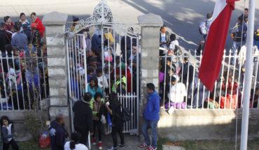 """Gobierno dijo que migración se enfrenta en forma """"responsable"""" y que no se puede volver a una situación """"desordenada"""""""