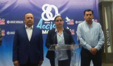 Gobierno federal es incapaz de dar rumbo y certeza: PAN Michoacán %