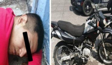 Intenta asaltar a cuentahabiente y al huir se dispara accidentalmente, lo atrapa la policía