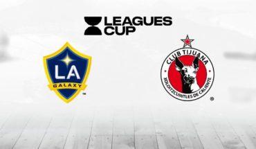 LA Galaxy vs Xolos en vivo online: Leagues Cup 2019, cuartos de final