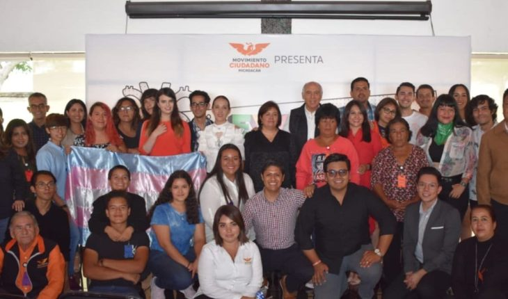 Llama Movimiento Ciudadano a construir sociedad incluyente en Michoacán