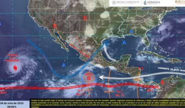 Lluvias muy fuertes en el norte, oriente y centro de México