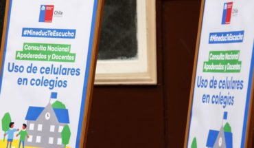 Mineduc lanza consulta nacional sobre uso del celular en estudiantes