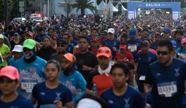 Muere hombre que corrió Medio Maratón en CDMX
