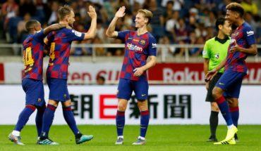 Ojo Vidal: De Jong brilló en debut con el Barca con 100% de efectividad en los pases