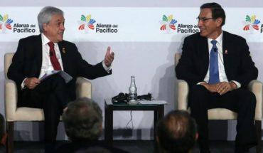 Piñera se reune con Presidente de Perú en el marco de la XIV Cumbre de la Alianza del Pacífico