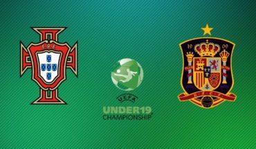Portugal vs España EN VIVO ONLINE: Euro Sub-19 2019, partido miércoles
