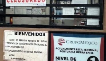 Profepa clausura terminal de Grupo México por derrame