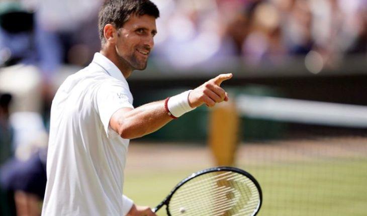 Tenis: Djokovic se instaló en la final de Wimbledon y espera por Nadal o Federer