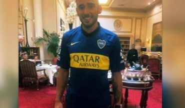 Toto Salvio llegó a Boca y se suma al plantel que va por la Libertadores