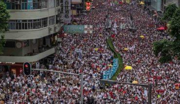 |Vídeo| Más fuertes las protestas masivas en Hong Kong
