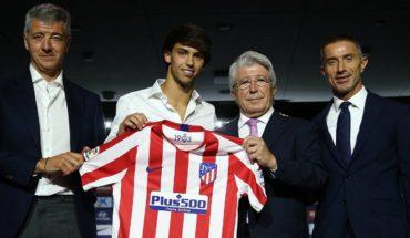[VIDEO] Joao Félix, la nueva joya portuguesa, fue presentado en el Atlético de Madrid