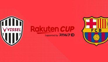 Vissel Kobe vs Barcelona EN VIVO: Partido amistoso, Rakuten Cup 2019