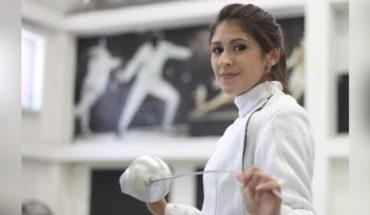 la esgrimista mexicana Paola Pliego, quien ahora representará a Uzbekistán