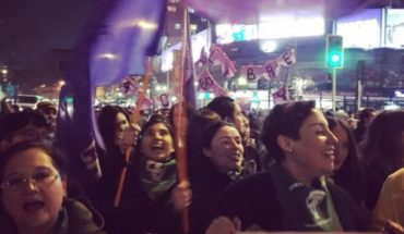 6 thousand people participated in the march for Free Abortion according to the Intendency
