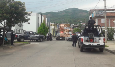 After chase and shooting police recover stolen van in Uruapan, Michoacán