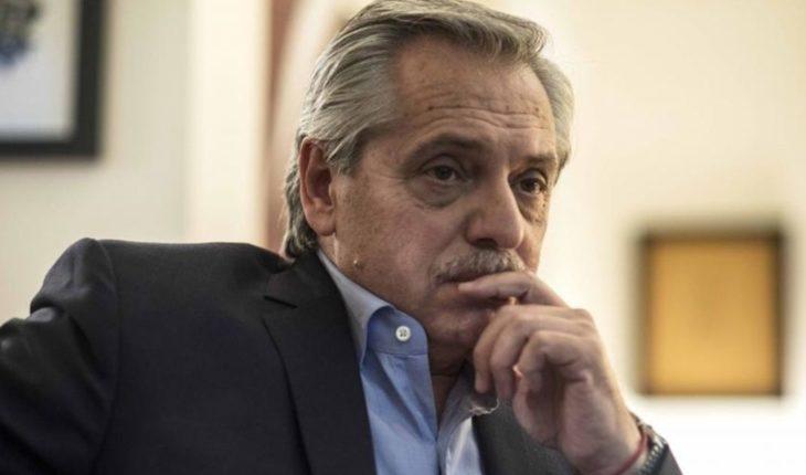 "Alberto Fernández: ""Macri allocates state resources in banks, I choose retirees"""