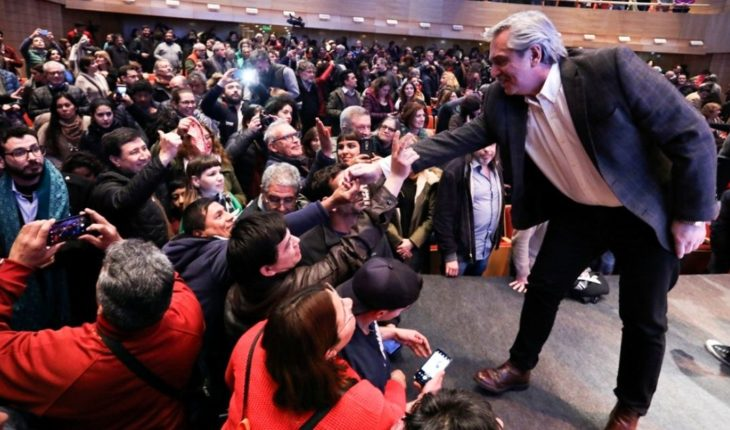 """Alberto Fernandez promised to """"stand up to the Conicet"""" if he becomes president"""