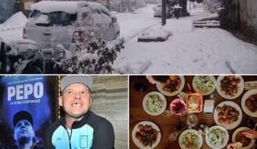 Bariloche under the snow, Pepo stopped preemptively, Amigo Day, lost Los Pumas and more...
