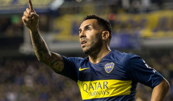 "Carlos Tévez: ""Today's Boca t-shirt is a fire"""