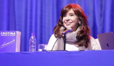 """Cristina Kirchner denounced """"dirty campaign"""" from the government: """"I'm worried"""""""