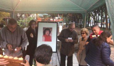 Vecinos de la activista se reunieron para realizarle un homenaje