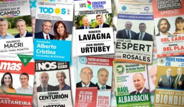 Election: long campaign for PASO with spots on radio and television
