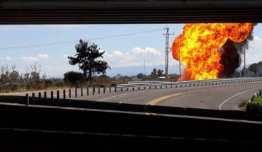 Explosion in Pemex pipeline leaves three injured in Guanajuato