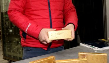 Gold ingots will be auctioned by the National Customs Service