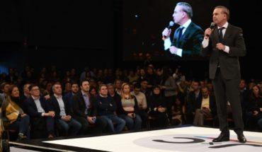 """In Mendoza, Pichetto got into the campaign: """"Macri is a leader"""""""