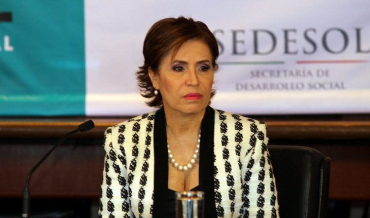 """""""I've always stood up and I'll keep doing it"""": Rosario Robles"""