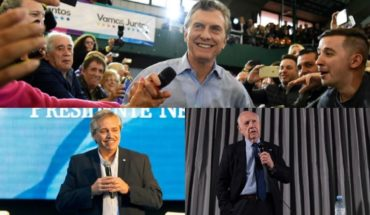 Long campaign: that's how Macri, Fernandez and Lavagna get ready