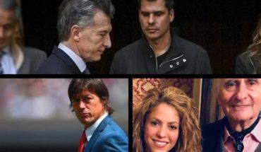 Macri fired De la Rúa, Shakira's message sense, Falklands veterans' ovation, Almeyda over River and much more...