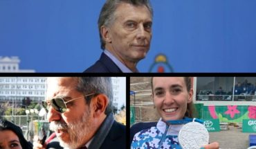 Macri repudiated threats to the intellectuals and artists who supported him, all against Aníbal Fernández, two new Argentine medals in Lima and more...