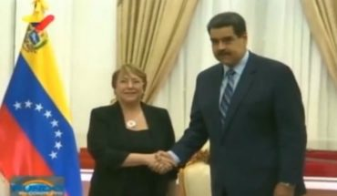 """Maduro said Bachelet took a """"wrong step"""" report with a report """"full of lies"""""""