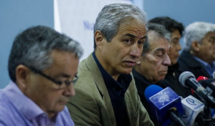 """Mario Aguilar: """"I wasn't mistaken, but the government has tried to distort our movement and it's not going to work for you"""""""