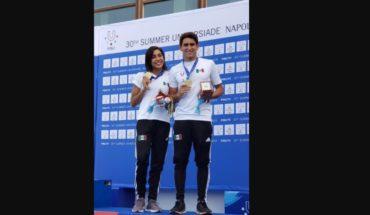 Mexican backspins win medals at Universiade