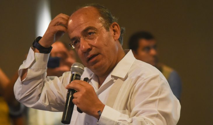 """""""Mexico Goes Without Authority"""": Calderón Criticizes Insecurity"""