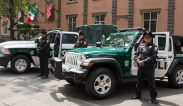 New patrol technology in CDMX recognizes faces and plates