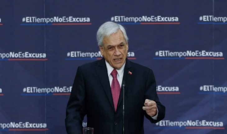 Piñera defends decree for FFAA to combat drug trafficking at border