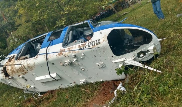 Policeareareared for pilot death and helicopter crash