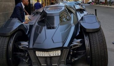 The Batmobile of a Saudi prince who stunned the streets of Brussels