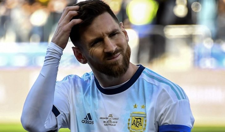 The photo card of Messi that revolutionized the networks