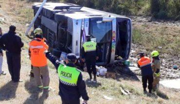 The remains of the fatalities of the accident in Tucumán arrived in Mendoza