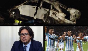 They confirmed that El Pepo was driving the van that overturned, the government will receive complaints from Venezuelans, Racing plays for Copa Argentina and much more...
