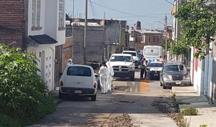 Matan a un hombre en la colonia Mirador Poniente de Morelia, hay tres detenidos