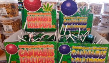 Tourists are surprised to find marijuana popsicves in a supermarket in Spain