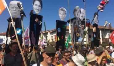 17 detenidos en altercados de la contracumbre del G7