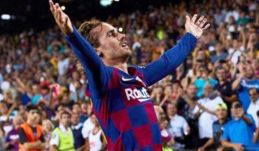 Barcelona vs Betis: Griezmann, Pérez, Alba y Vidal comandan la goleada de los culés para primer triunfo en LaLiga