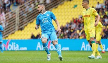 Benedetto vuela penal en su debut como titular en Olympique de Marsella